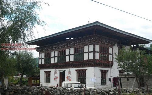 不丹独特的民居建筑1