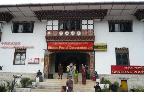 不丹独特的民居建筑15