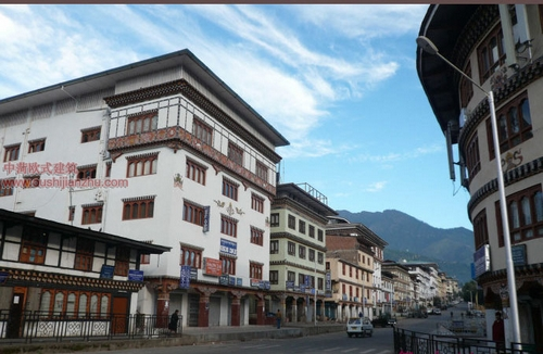 不丹独特的民居建筑12