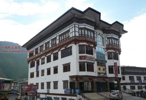 不丹独特的民居建筑17