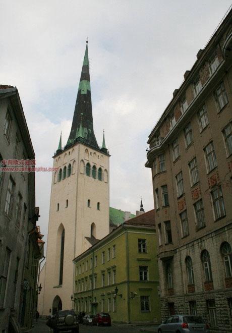 欧式建筑—爱沙尼亚首都塔林6