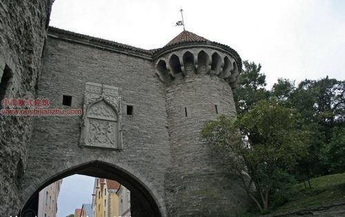 欧式建筑—爱沙尼亚首都塔林2
