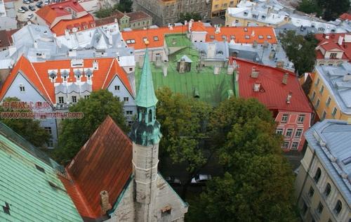 欧式建筑—爱沙尼亚首都塔林7