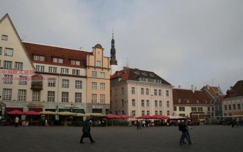 欧式建筑—爱沙尼亚首都塔林9