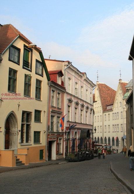 欧式建筑—爱沙尼亚首都塔林13