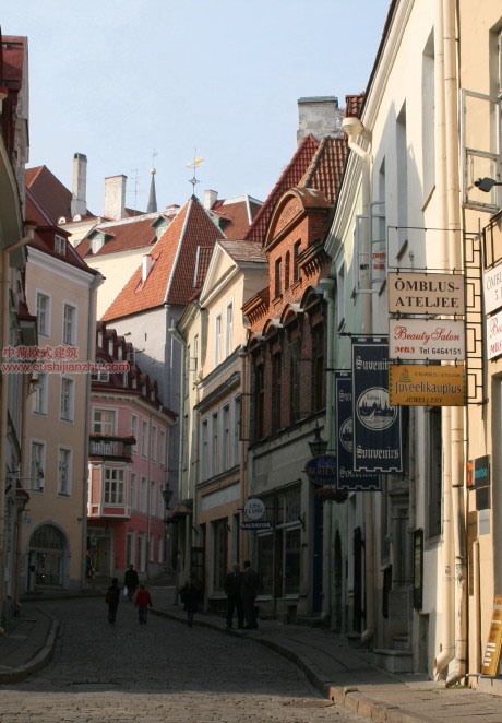 欧式建筑—爱沙尼亚首都塔林12