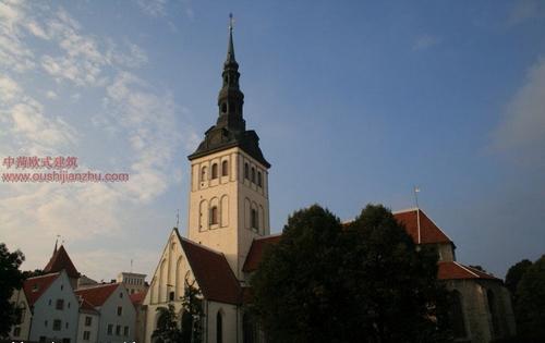 欧式建筑—爱沙尼亚首都塔林14