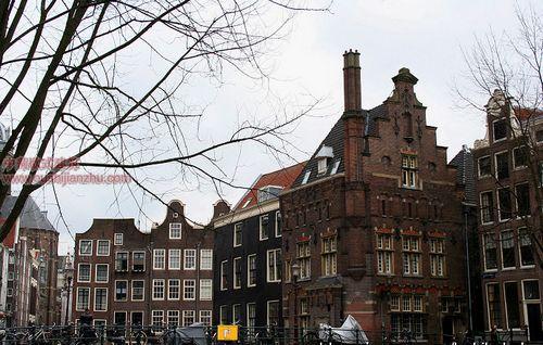 荷兰阿姆斯特丹欧式建筑1