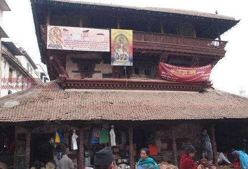 尼泊尔加德满都的杜巴广场5