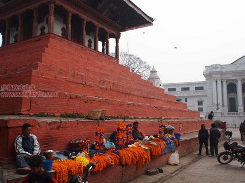 尼泊尔加德满都的杜巴广场7
