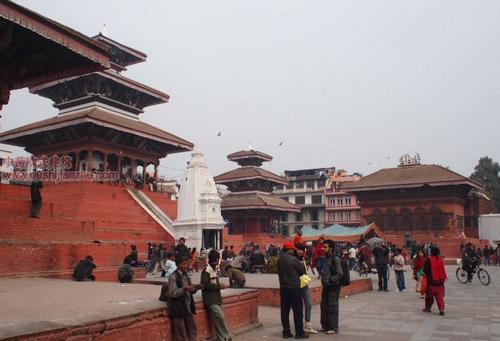 尼泊尔加德满都的杜巴广场1