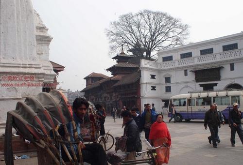 尼泊尔加德满都的杜巴广场9