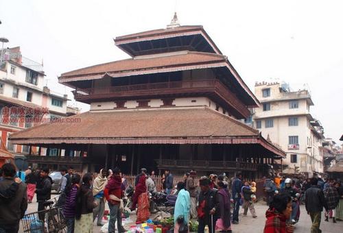 尼泊尔加德满都的杜巴广场6