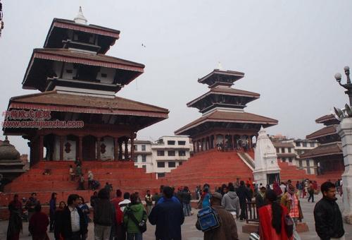尼泊尔加德满都的杜巴广场14