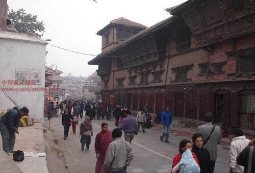 尼泊尔加德满都的杜巴广场11
