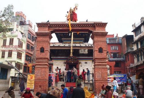 尼泊尔加德满都的杜巴广场16