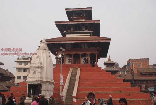 尼泊尔加德满都的杜巴广场13