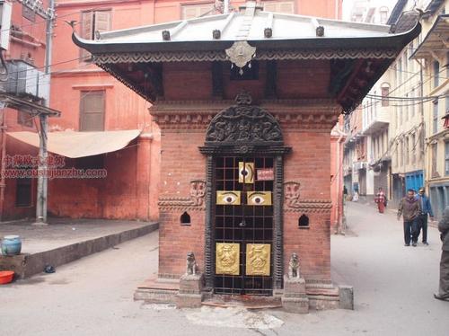 尼泊尔加德满都的杜巴广场12