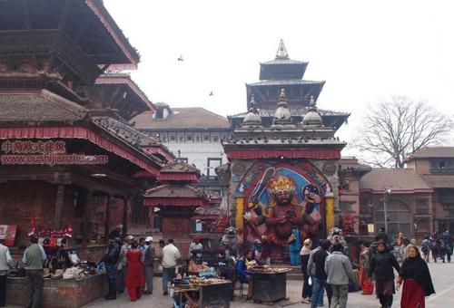 尼泊尔加德满都的杜巴广场15
