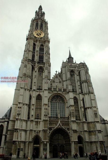 欧式建筑-圣母大教堂1