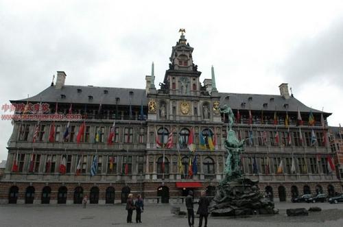 欧式建筑—安特卫普市政厅
