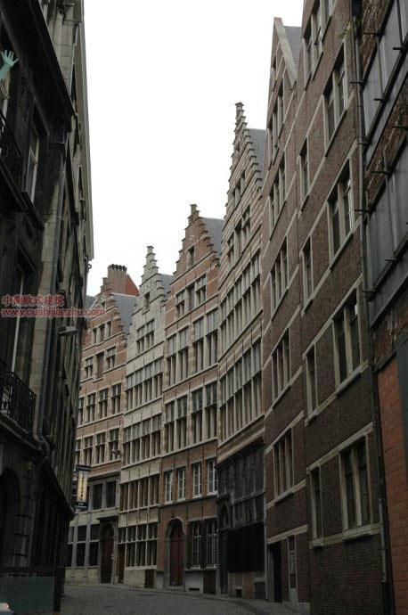 欧式建筑—安特卫普的小巷