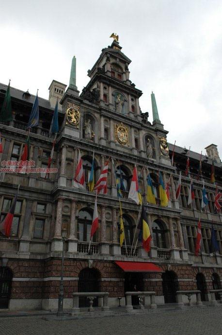 欧式建筑—安特卫普市政厅2