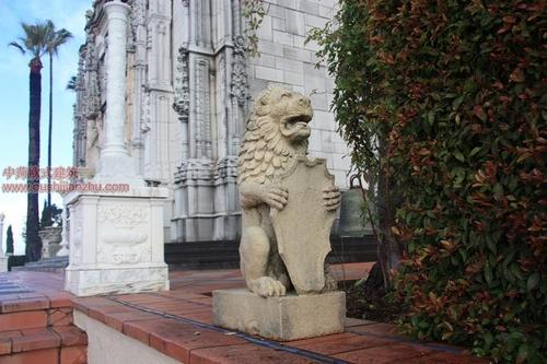美国加州的赫斯古堡5