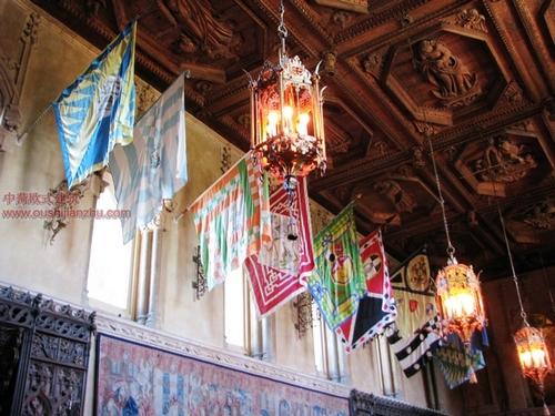 美国加州的赫斯古堡11