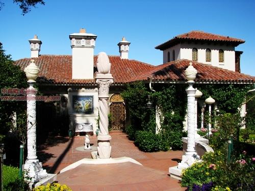美国加州的赫斯古堡17