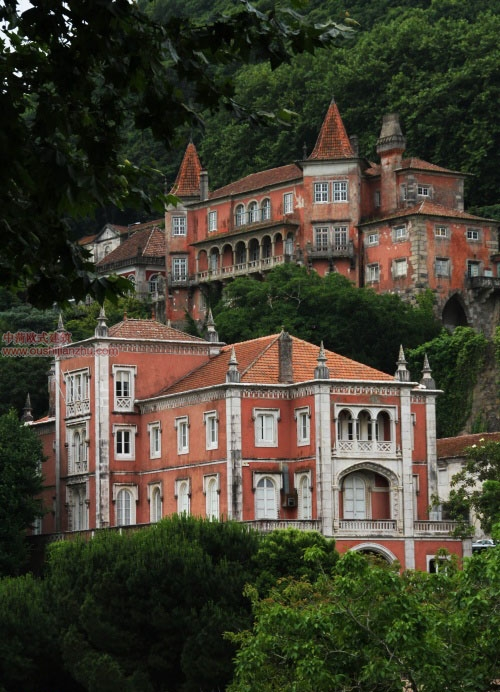 欧式建筑-葡萄牙辛特拉6
