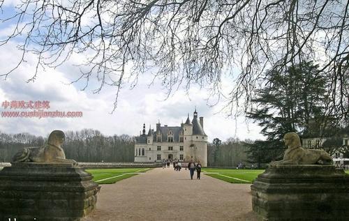 欧式建筑-舍农梭城堡2