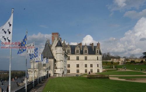欧式建筑-昂布瓦斯城堡3