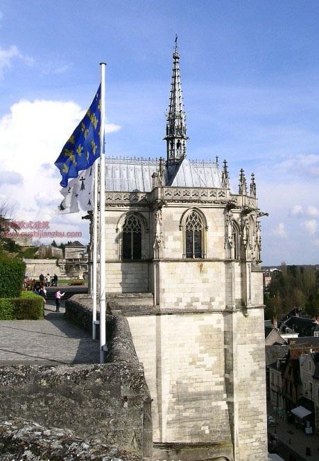 欧式建筑-昂布瓦斯城堡2