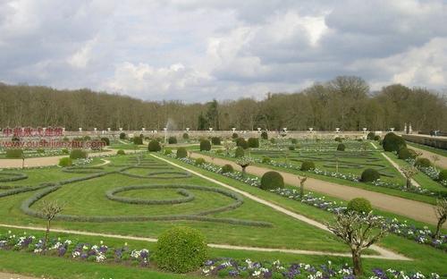 欧式建筑-舍农梭城堡花园