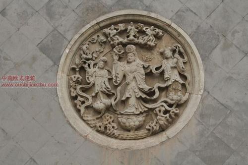 五台山普化寺里的精美雕塑4