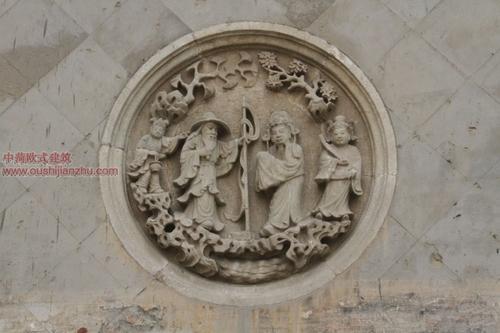 五台山普化寺里的精美雕塑3