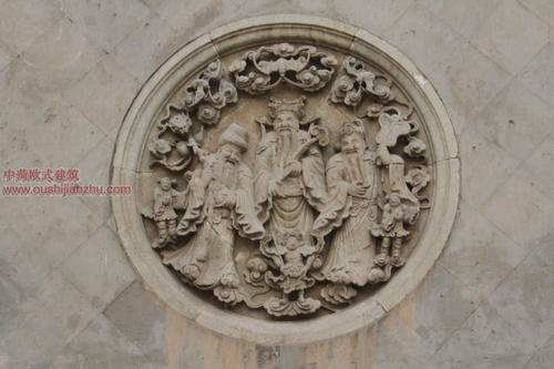 五台山普化寺里的精美雕塑1