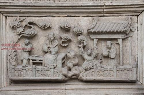 五台山普化寺里的精美雕塑10