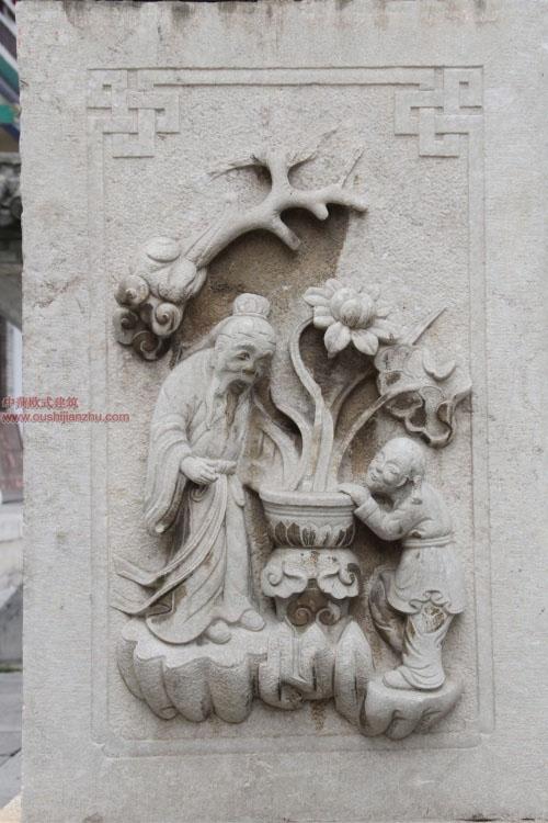 五台山普化寺里的精美雕塑21