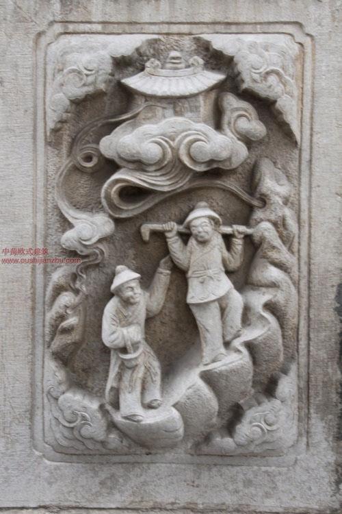 五台山普化寺里的精美雕塑24