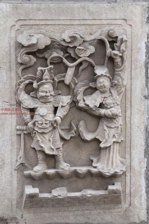 五台山普化寺里的精美雕塑23