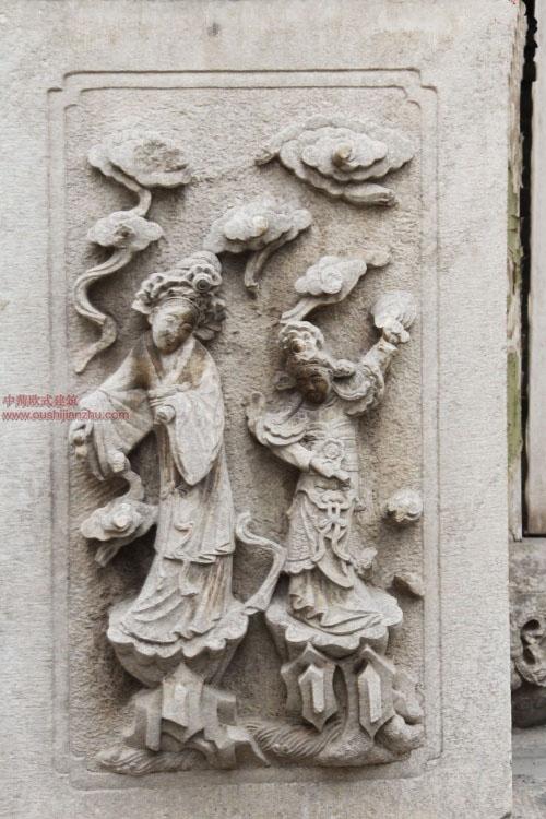 五台山普化寺里的精美雕塑27