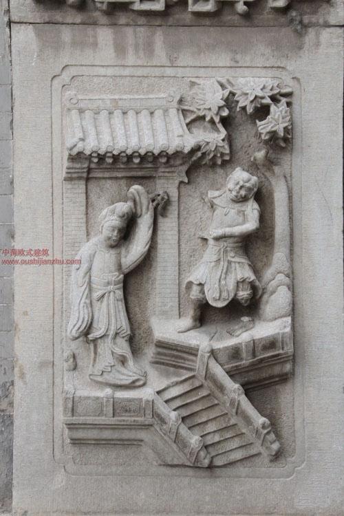 五台山普化寺里的精美雕塑25