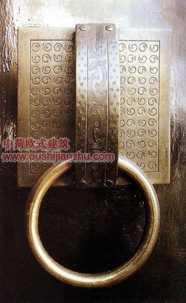 铜装饰——铜拉手3
