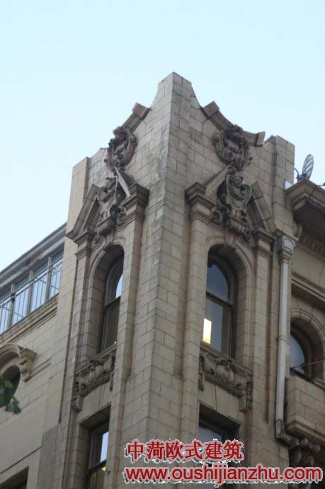 殖民时期的欧式建筑