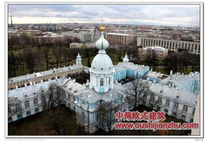 苏联时期的欧式建筑
