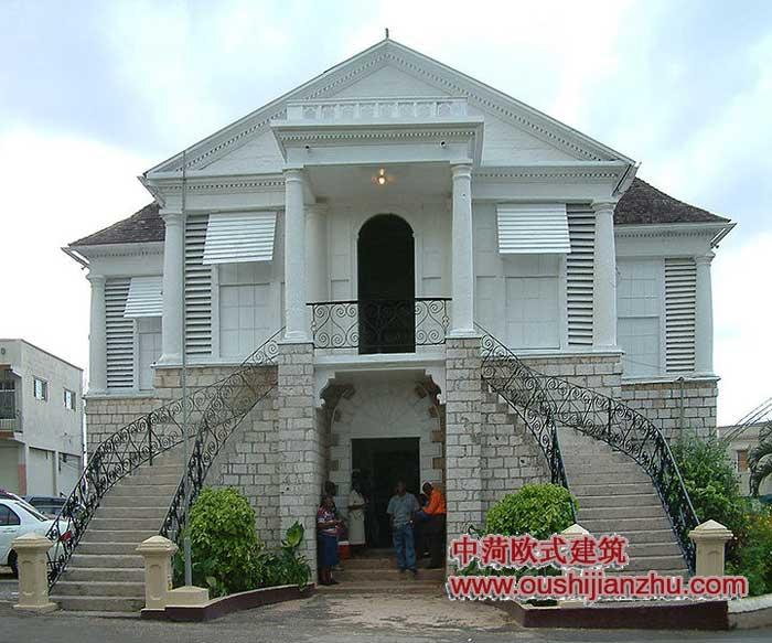 牙买加格鲁吉亚欧式建筑