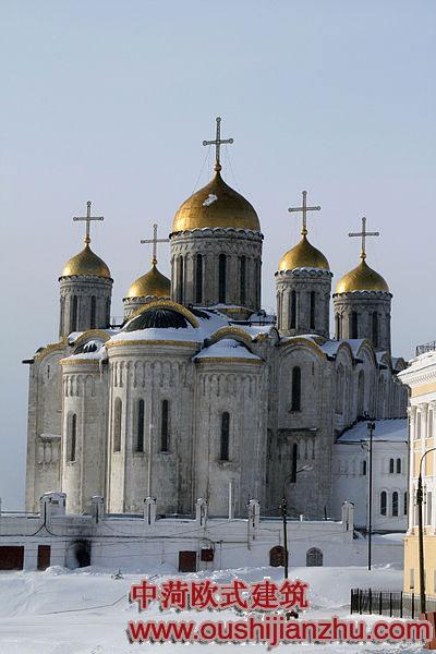 俄罗斯建筑的特点 - 欧式建筑赏析