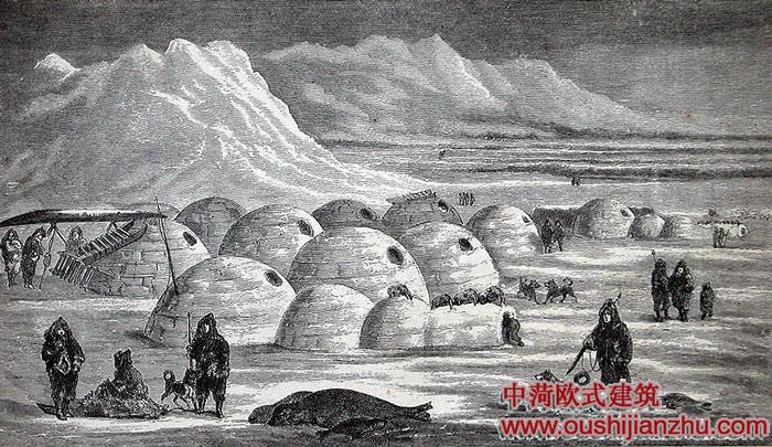 雪屋的建筑结构